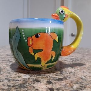 Other - Handpainted fish mug